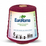 Barbante EuroRoma 4/6 600g Bordô